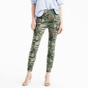 J. Crew Pants - J. Crew camo skinny pants